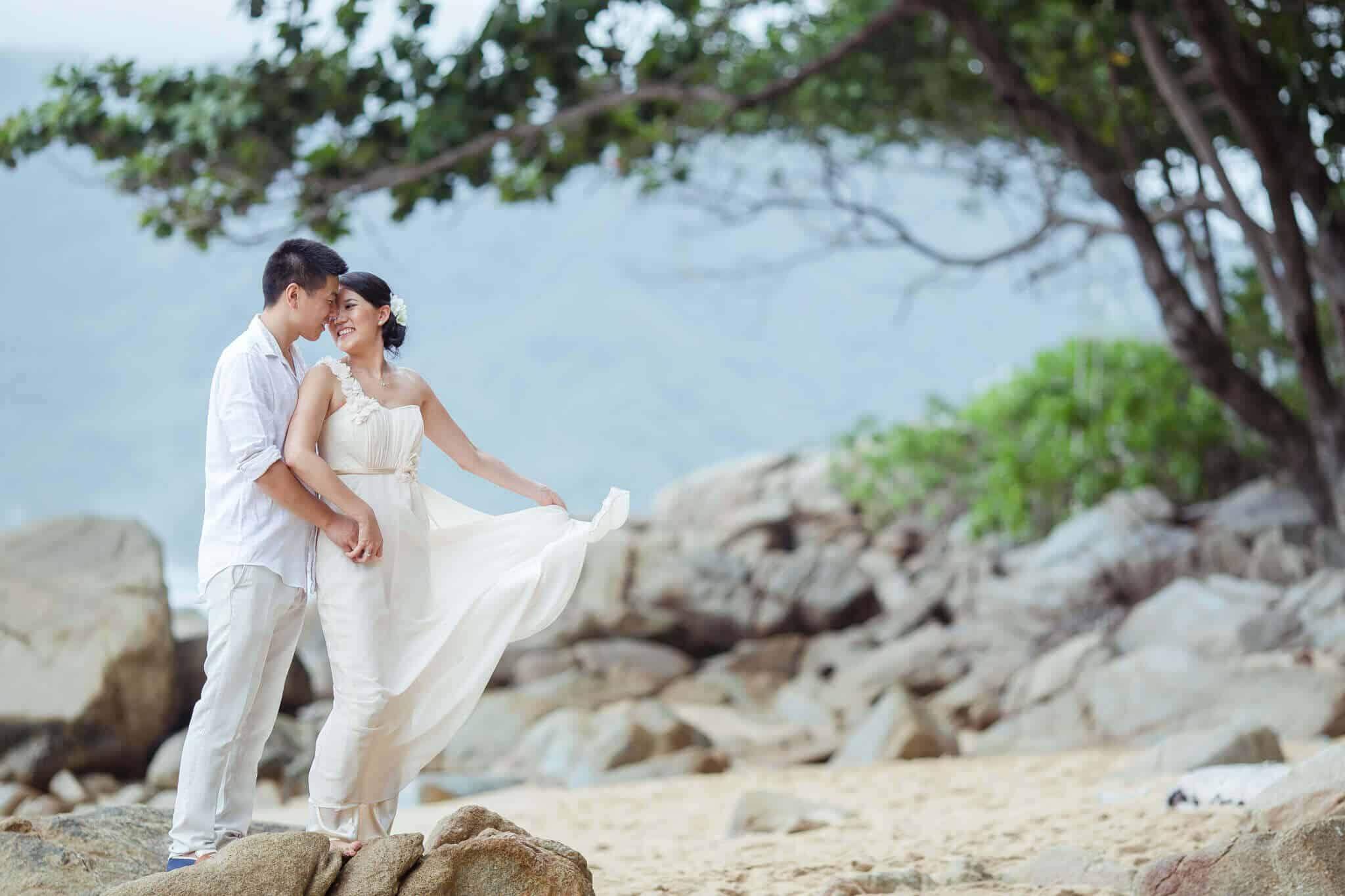 Bride and Groom Wedding Photography Wedding Planners Phuket Thailand
