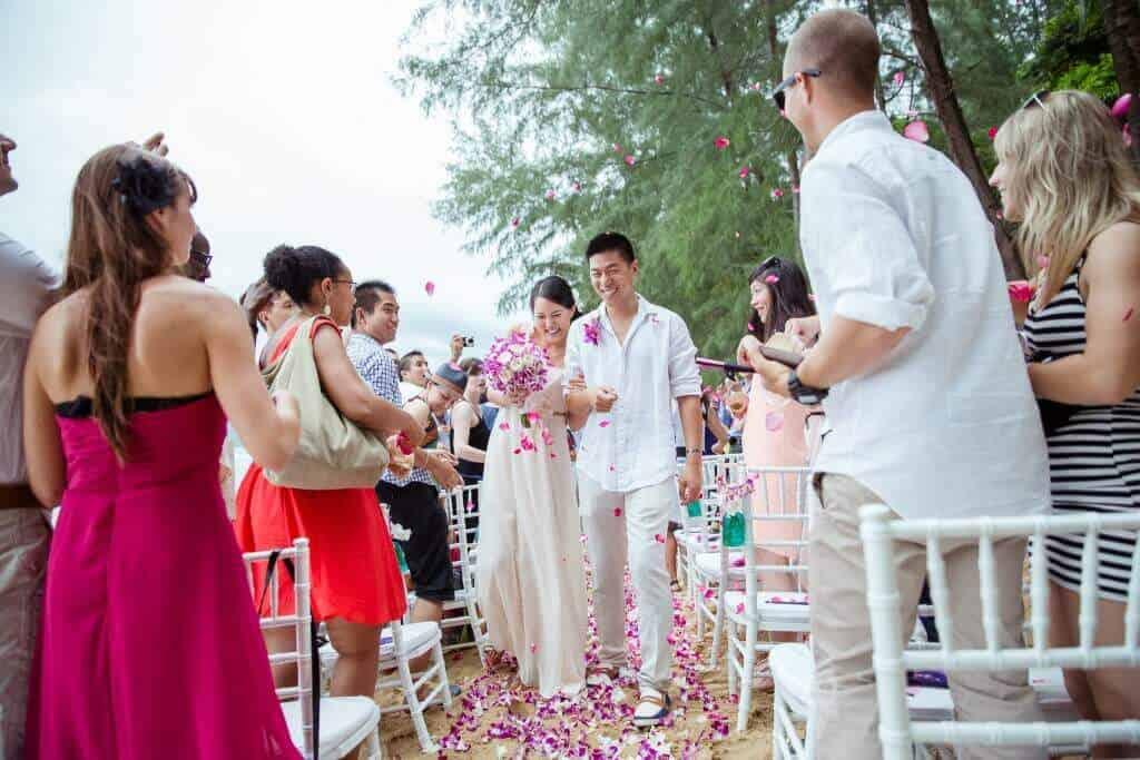 Married Phuket Thailand