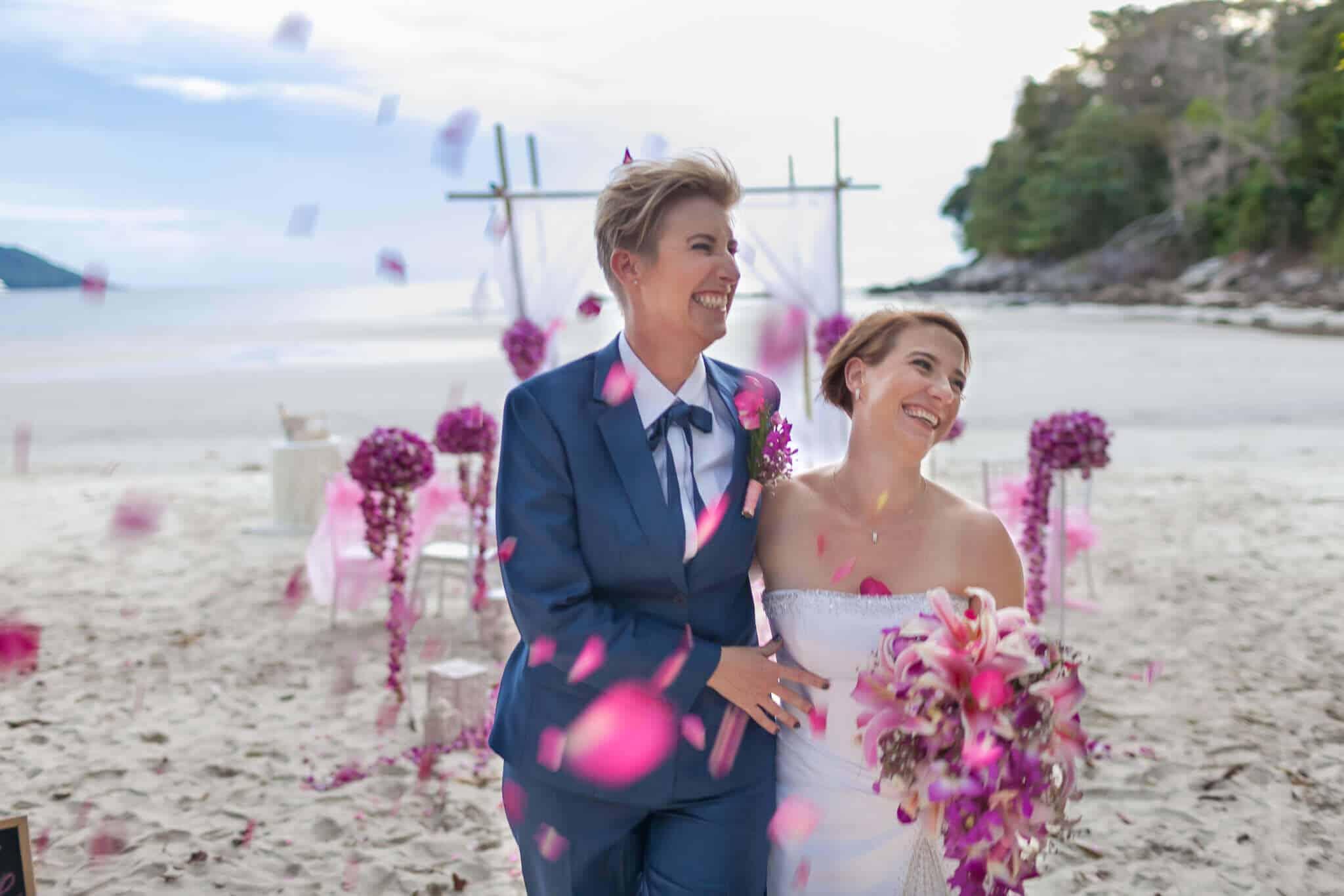 Phuket Beach Marriage Laura & Marie (13)