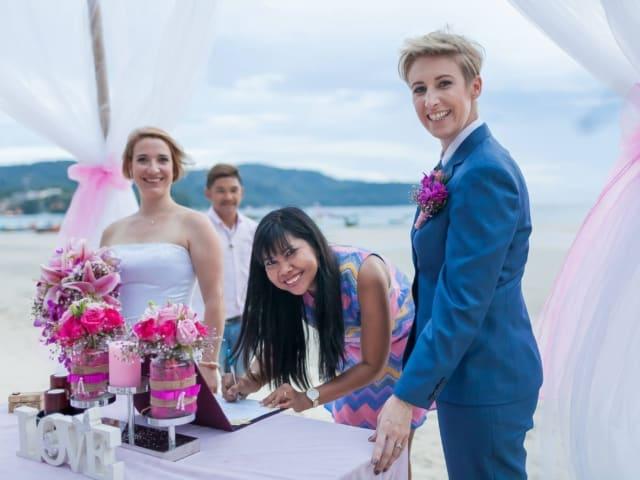 Phuket Beach Marriage Laura & Marie (16)