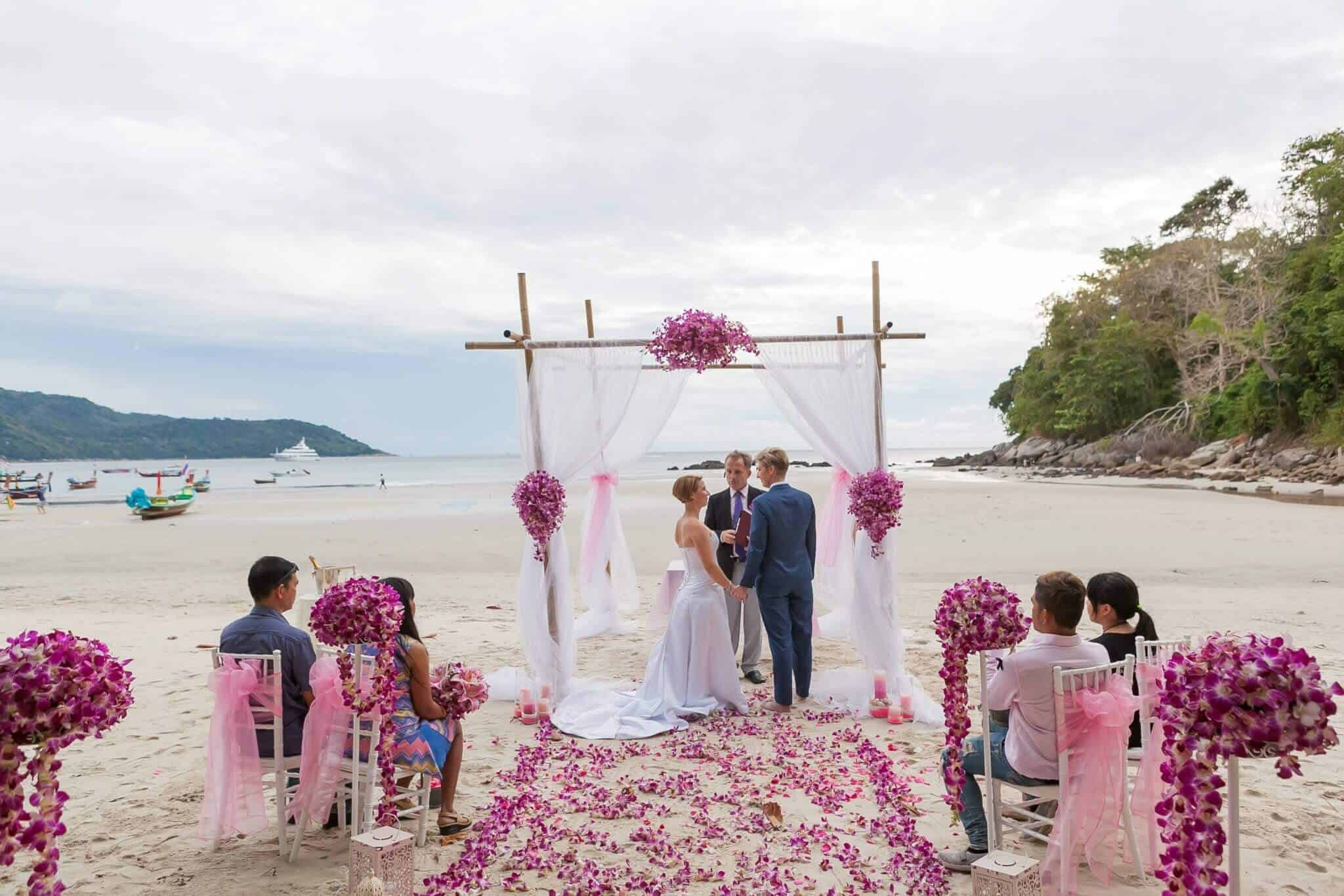 Phuket Beach Marriage Laura & Marie (4)