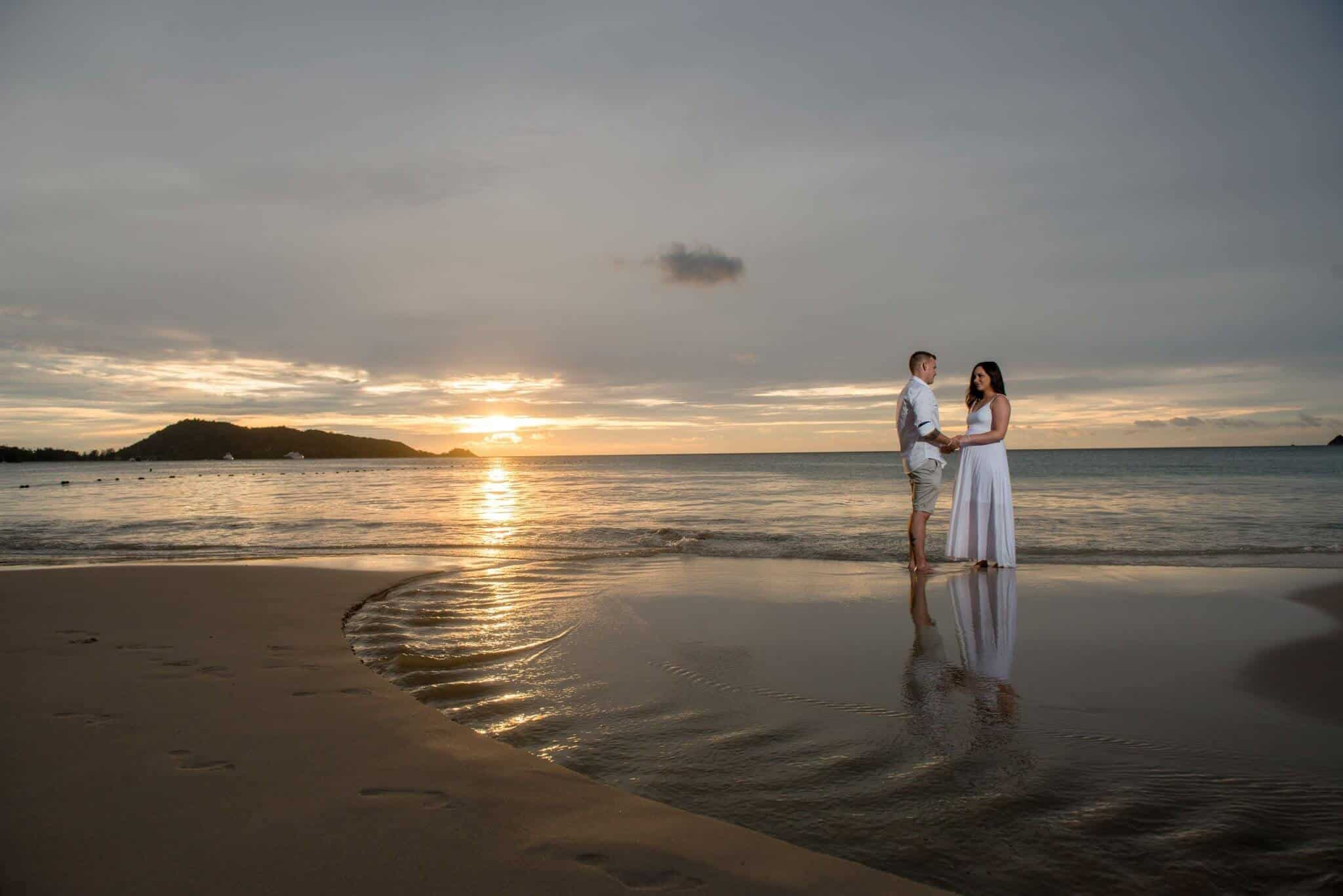 Phuket Beach Wedding Photoshoot