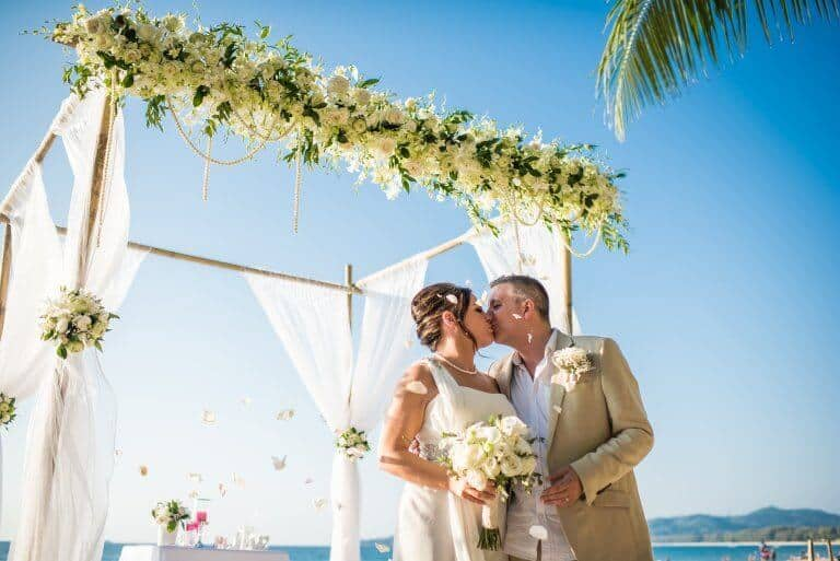 Phuket Beach Legal Wedding