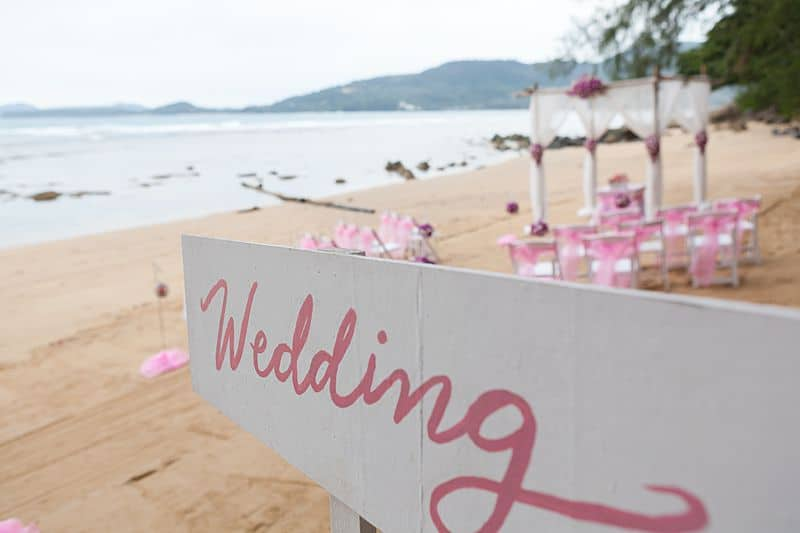 Hua Beach Wedding For Chadaporn & Neville July 2017 Unique Phuket Wedding Planners 4