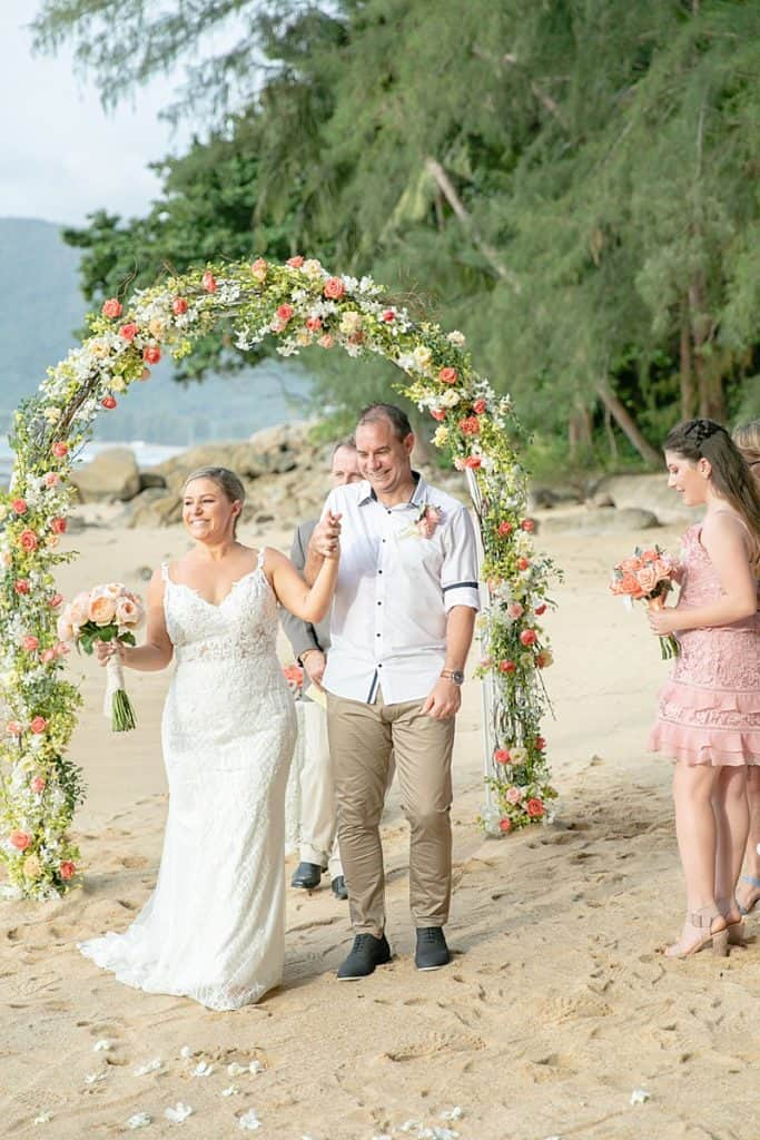 Wedding Lucy & Murray At Hua Beach 15th July 2018 255