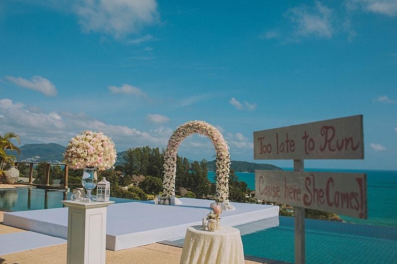 Unique Phuket Wedding Planners Brook & Daniel 29th July 2017 Villa Aye Thebaci1 32