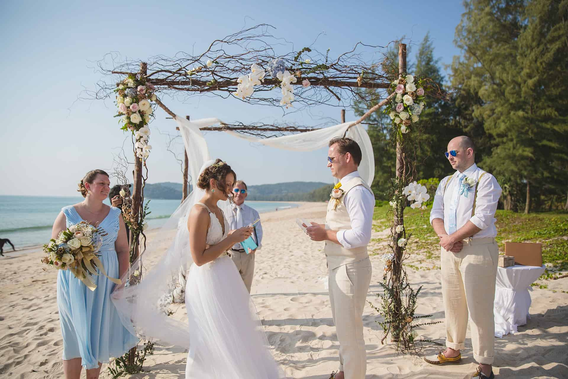 Beach Wedding Unique Phuket 16