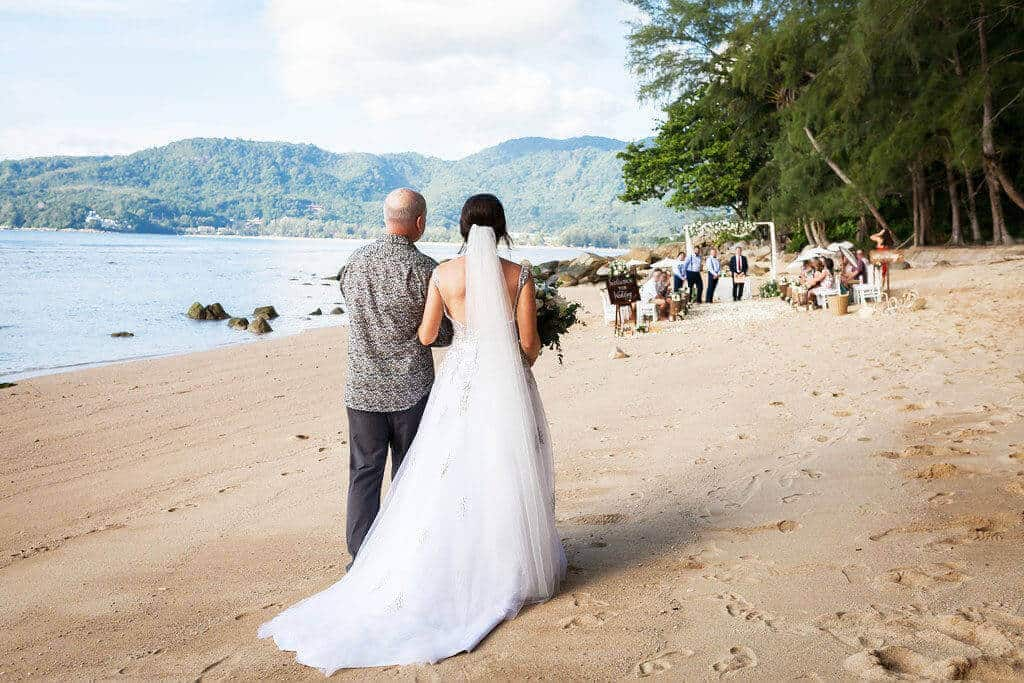 Beach Wedding In Phuket professional wedding planner.