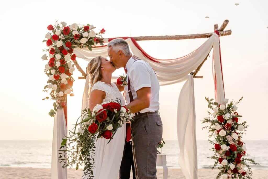Gina & Hasse Beach Wedding 20th Jan 2020 Aleenta Resort Phang Nga 145