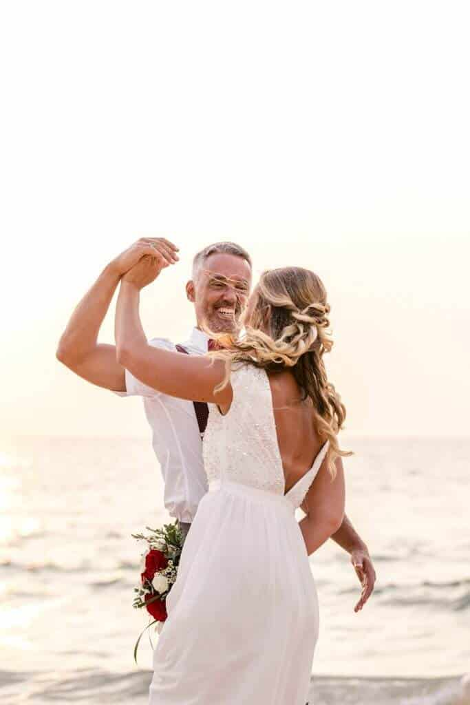 Gina & Hasse Beach Wedding 20th Jan 2020 Aleenta Resort Phang Nga 199