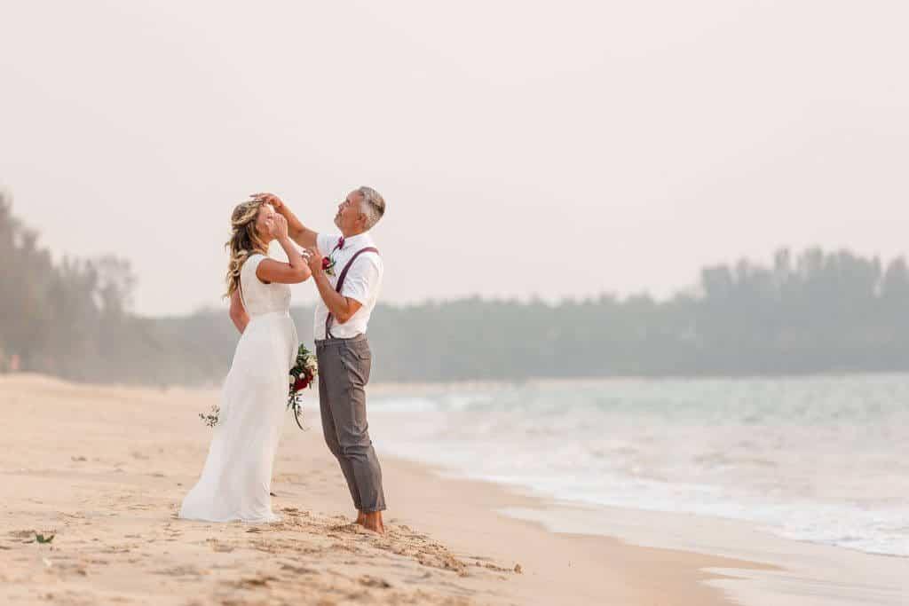 Gina & Hasse Beach Wedding 20th Jan 2020 Aleenta Resort Phang Nga 212
