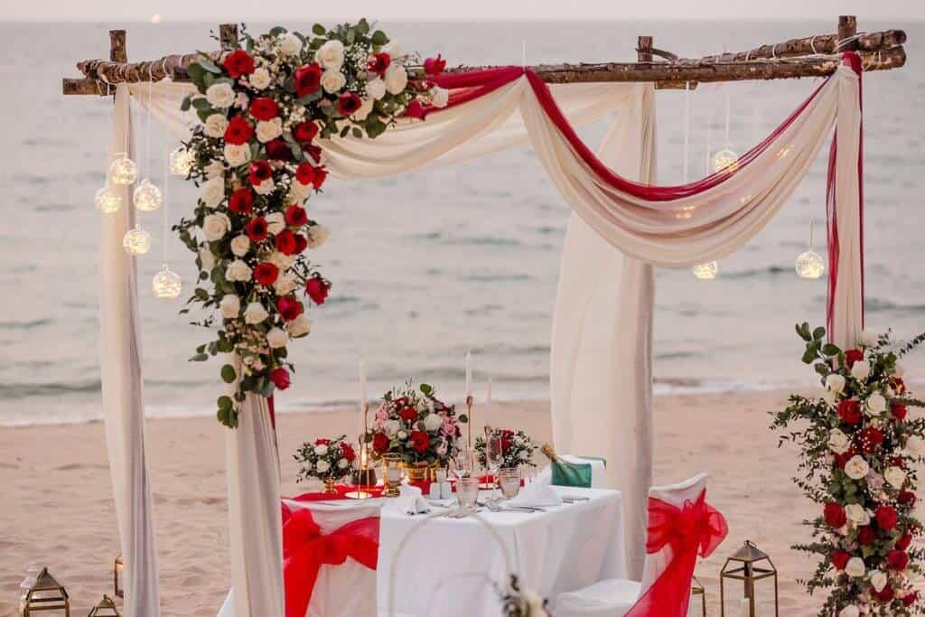 Gina & Hasse Beach Wedding 20th Jan 2020 Aleenta Resort Phang Nga 285