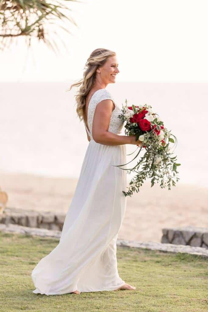 Gina & Hasse Beach Wedding 20th Jan 2020 Aleenta Resort Phang Nga 57