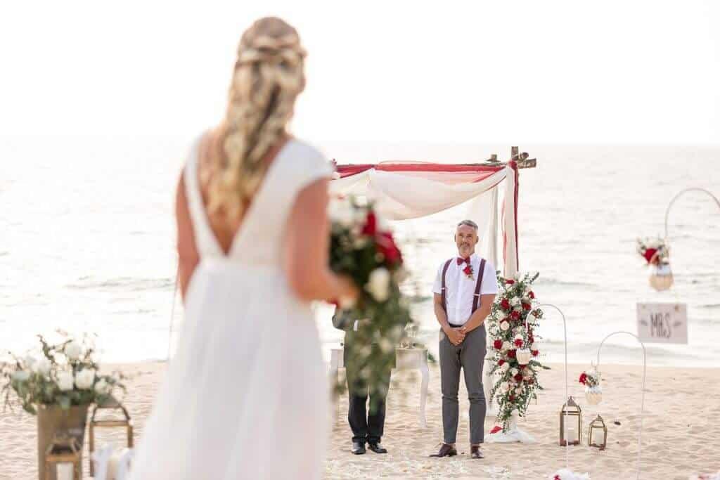 Gina & Hasse Beach Wedding 20th Jan 2020 Aleenta Resort Phang Nga 58